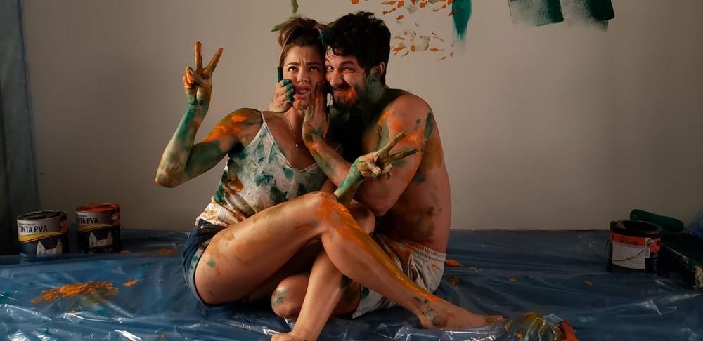Marcos e Paloma se divertem em Bom Sucesso