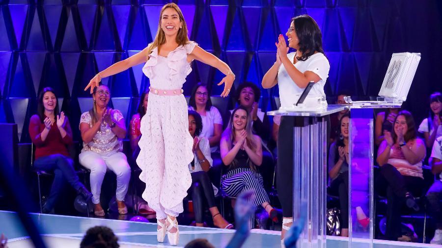 Patrícia Abravanel dançará balé ao lado da competidora Gabriela de Jesus no Topa ou Não Topa (Foto: Divulgação/SBT)