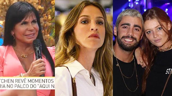 Gretchen, Luana Piovani, Pedro Scooby e Cíntia Dicker. Foto: Reprodução