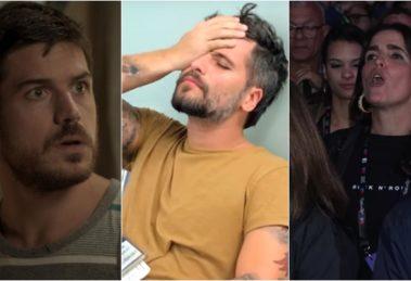 Marco Pigossi, Bruno Gagliasso e Malu Mader estão entre os atores que deixaram a Globo recentemente. (Foto: Montagem/Reprodução)