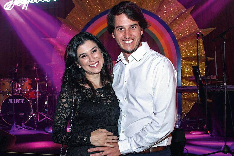 Renata Abravanel e Caio Curado (Foto: Reprodução)