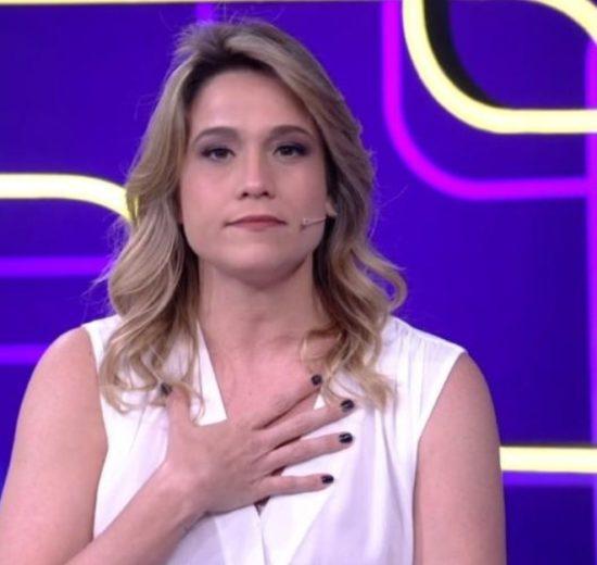 Fernanda Gentil no comando do programa Se Joga, da Globo (Foto: Reprodução)