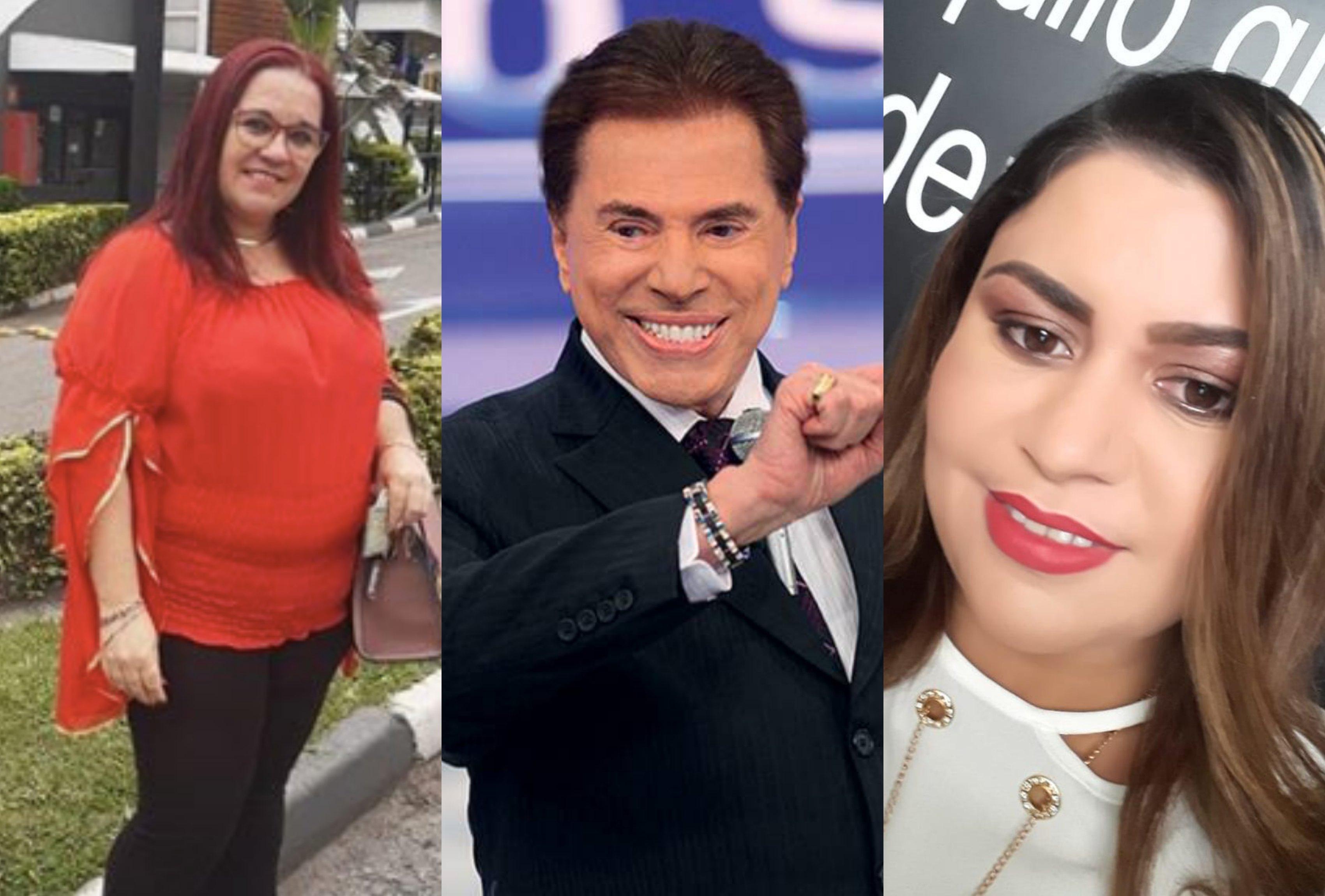 Érica Dias, Silvio Santos e Lene Sensitiva. Foto: Reprodução