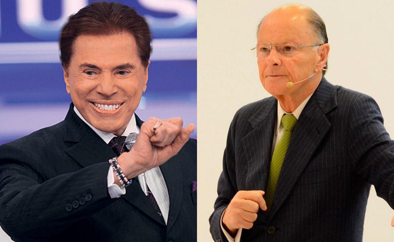 Silvio Santos e Edir Macedo. Foto: Reprodução audiência audiências