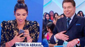 Silvio Santos colocou a filha Patricia Abravanel em extrema saia justa (Foto reprodução)