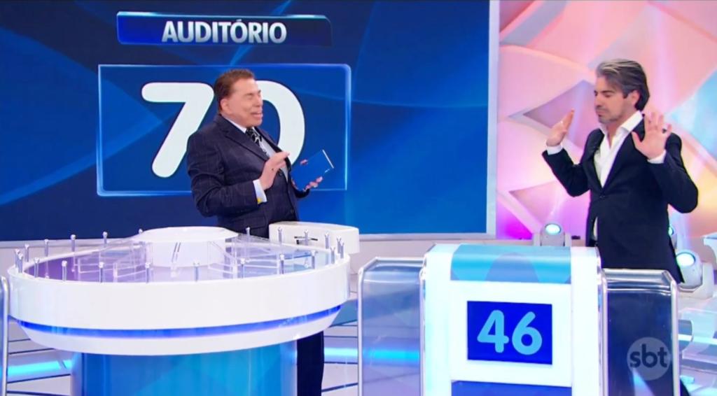 Silvio recebe o João Kléber (Foto: Reprodução)