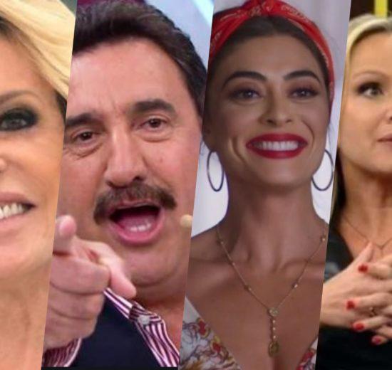 Subiu, desceu de hoje tem Ana Maria, Ratinho, Eliana, Juliana Paes e A Dona do Pedaço, Rebeca Abravanel e mais