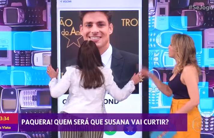 Susana Vieira fala sobre Cauã Reymond (Foto: Reprodução/ GloboPlay)
