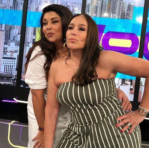 Susana Vieira e Fabiana Karla (Foto: Reprodução/Instagram)