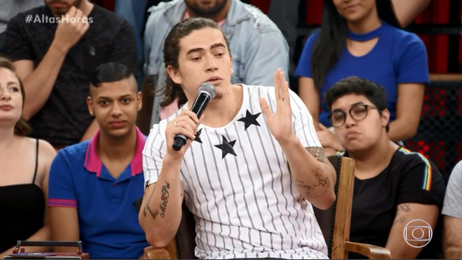 Whindersson Nunes deu o que falar ao falar sobre sua fortuna (Foto: Reprodução/ Globo)