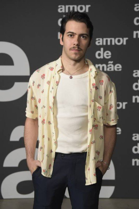 Filho de Alessandra Negrini, Antonio Benício estará em Amor de Mãe com o pai Murilo Benício (Foto: João Niguel Junior/TV Globo/ Divulgação)