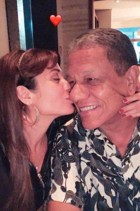 Maria Melilo e Arnando Pereira Filho: lua de mel em Aruba (Foto: reprodução/instagram)