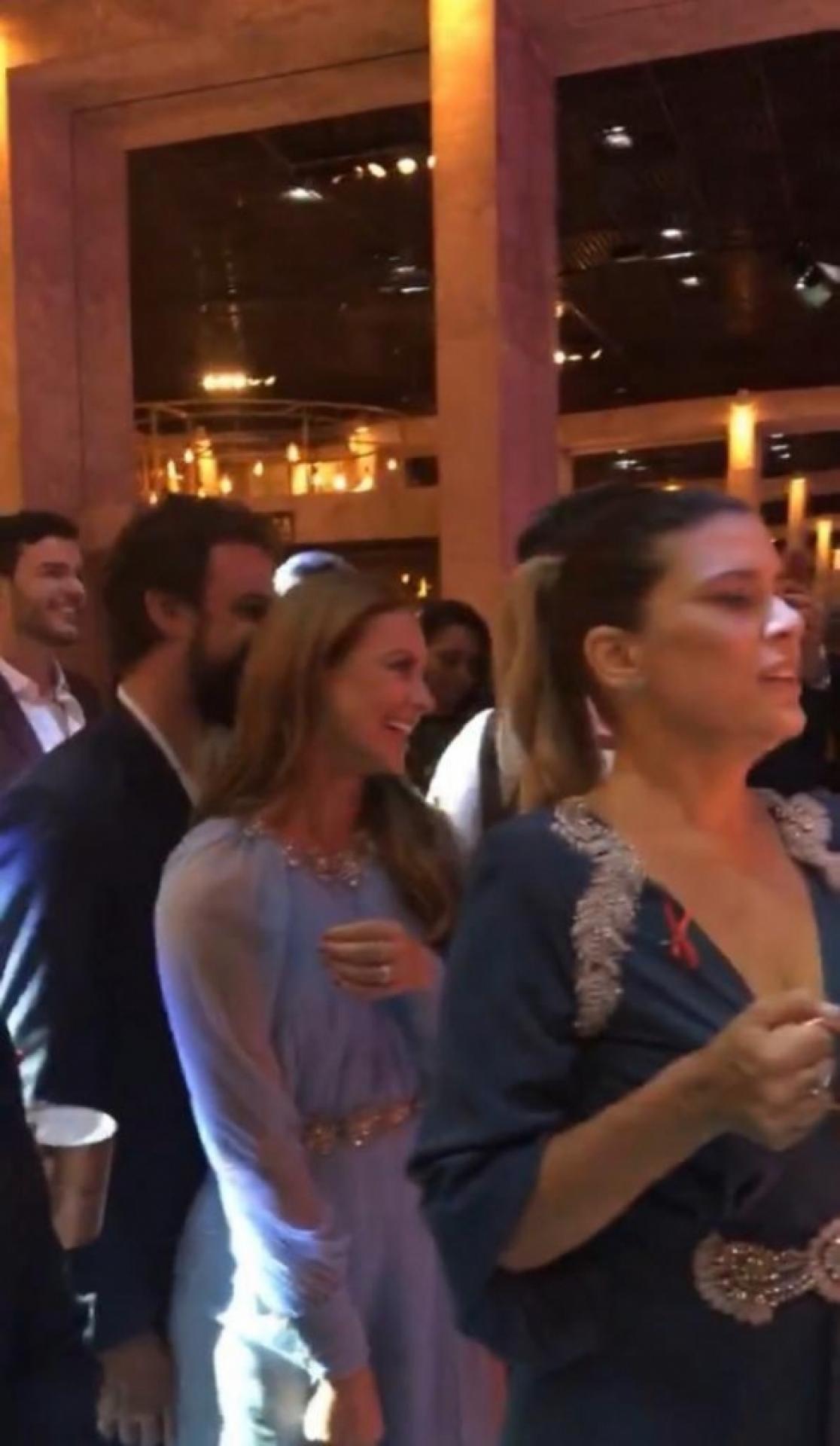 Paolla Oliveira curte festa com novo romance. Foto: Reprodução/O Dia