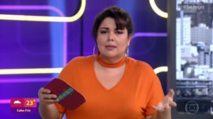Fabiana Karla no comando do Se Joga, que perdeu para o SBT no ibope (Foto: Reprodução/Globo)