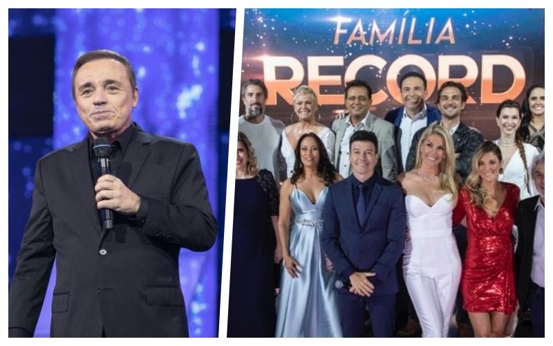 Gugu Liberato, Marcos Mion, RecordTV