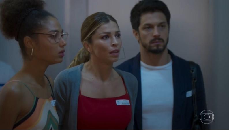 Paloma (Grazi Massafera) será chantageada por ex-marido em Bom Sucesso (Foto: Reprodução/Globo)