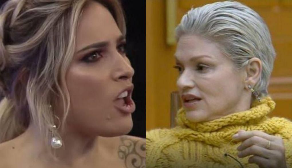 Tati Dias e Andréa Nóbrega (Foto: Montagem/TV Foco)