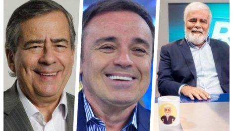 Gugu Liberato, Paulo Henrique Amorim, Wagner Montes, Ana Hickmann, Record