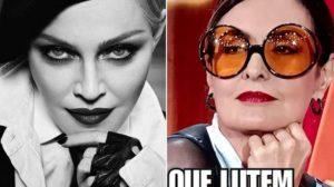 Fátima Bernardes dançou ao som de Madonna (Foto: Reprodução)