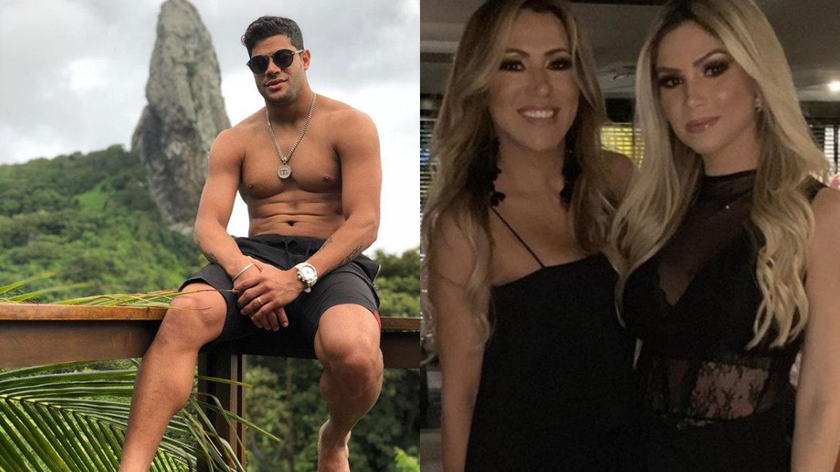 Hulk, Camila Ângelo e Iran Ângelo