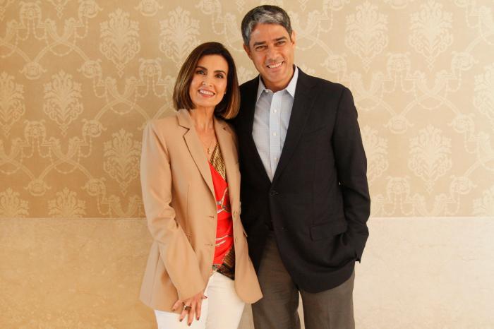 William Bonner e Fátima Bernardes (Foto: Divulgação)