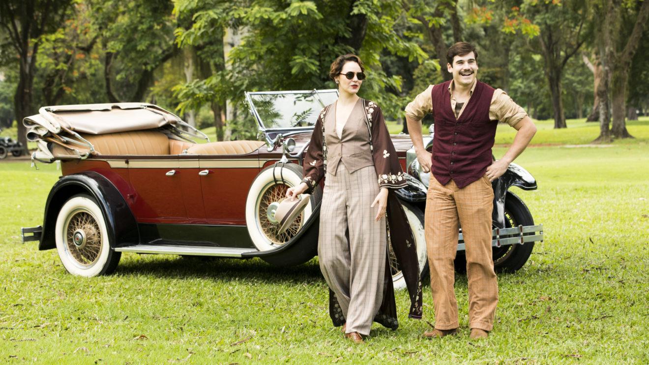 Alfredo e Adelaide tem encontro na novela de época da Globo
