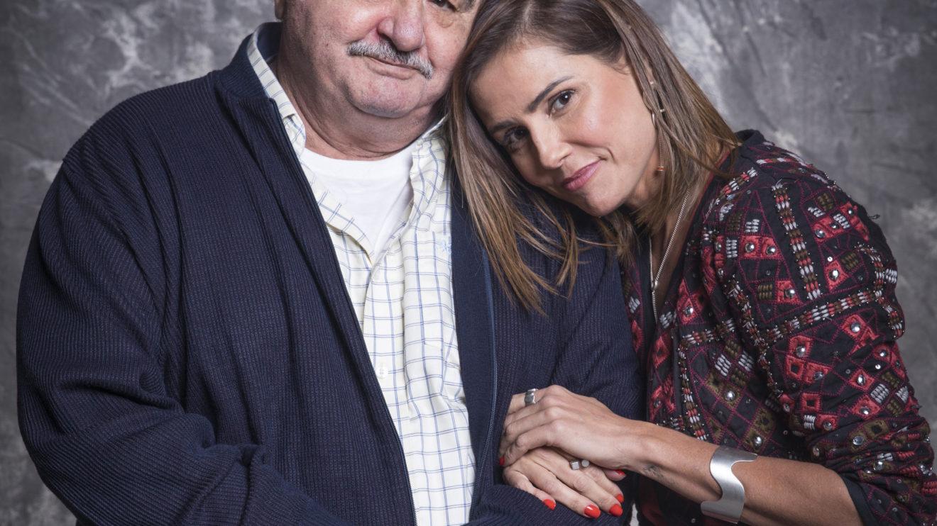 Ignácio ( Otavio Augusto ) e Alexia ( Deborah Secco deSalve-se Quem Puder