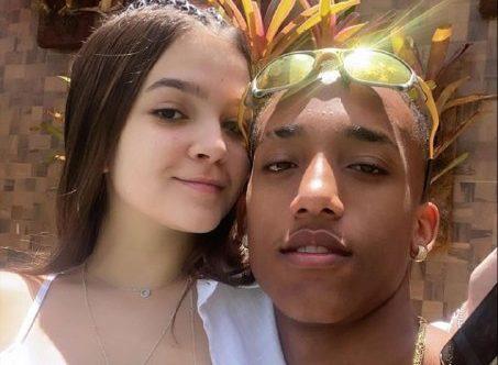 Mel Maia e o namorado, o jogador João Pedro (Foto: Reprodução/ Instagram)
