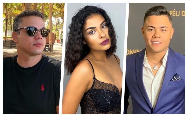 Anderson Felício, Munik Nunes, Felipe Araújo