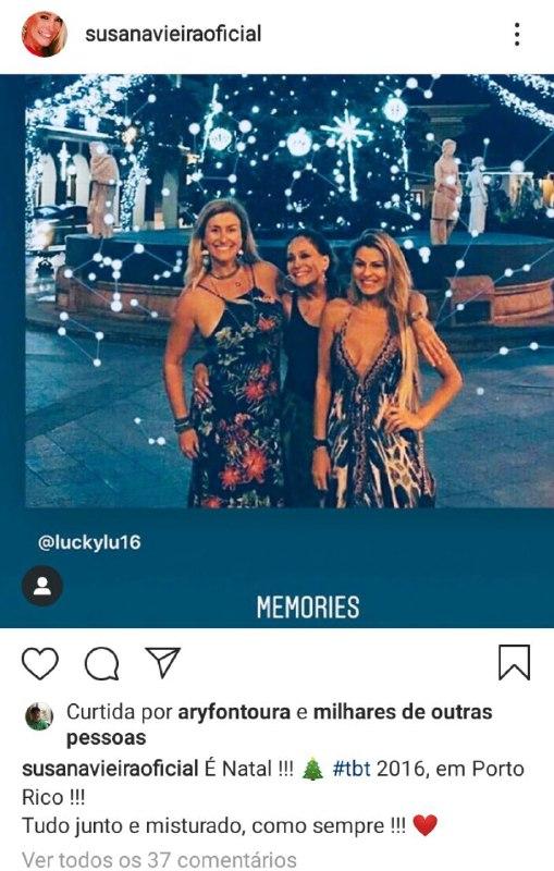 Susana Vieira durante uma viagem com algumas amigas (Foto: Reprodução/ Instagram)