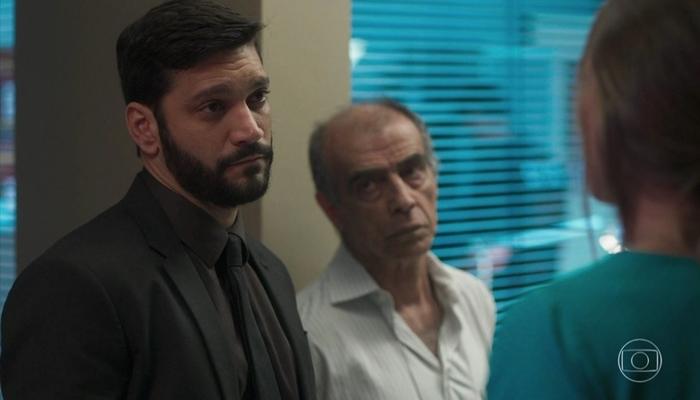 Diogo (Armando Babaioff) será passado para trás por Paloma em Bom Sucesso e vai jurar vingança (Foto: Reprodução/Globo)