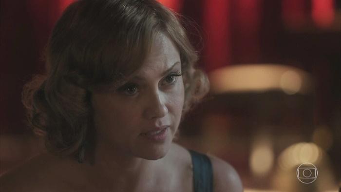 Ellen Roche (Marion) em cena da novela Éramos Seis (Foto: Reprodução/Globo)