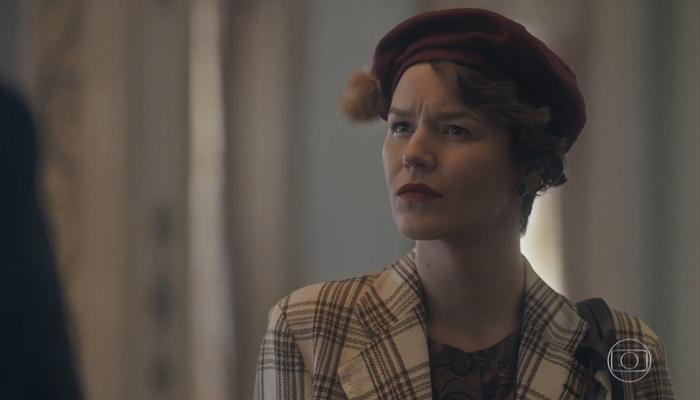 Adelaide (Joana de Verona) provocará surto de Justina (Julia Stockler) na novela das seis da Globo (Foto: Reprodução/Globo)