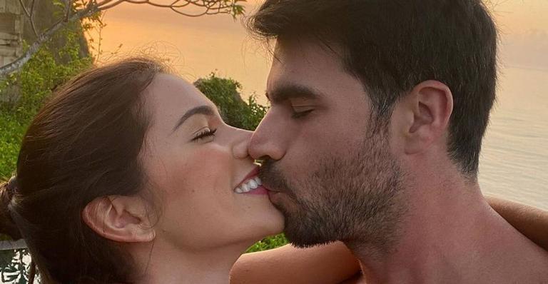 Adriana Santa'anna e Rodrigão (Foto: Reprodução)