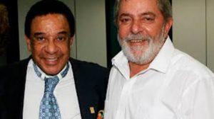 Agnaldo Timóteo e Lula (Foto: Reprodução)