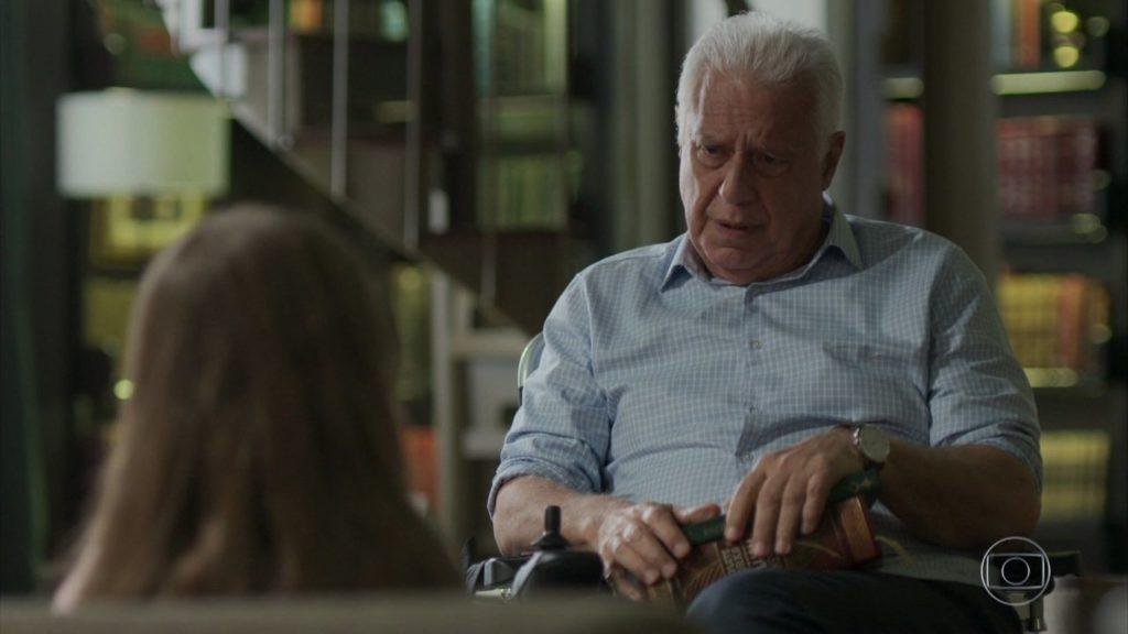 Alberto (Antonio Fagundes) cederá a doença na novela Bom Sucesso