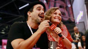 André Marques e Fernanda Rodrigues (Foto: Iwi Onodera/UOL)