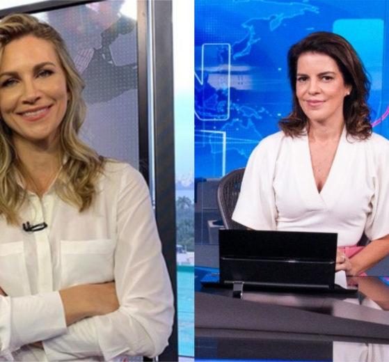 Anne Lootterman cuidava da meteorologia das duas edições do RJTV na Globo e deixou Mariana Gross emocionada em despedida (Foto: Montagem/TV Foco)