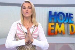 Ana Hickmann é uma das apresentadoras do Hoje em Dia (foto: reprodução/RecordTV)