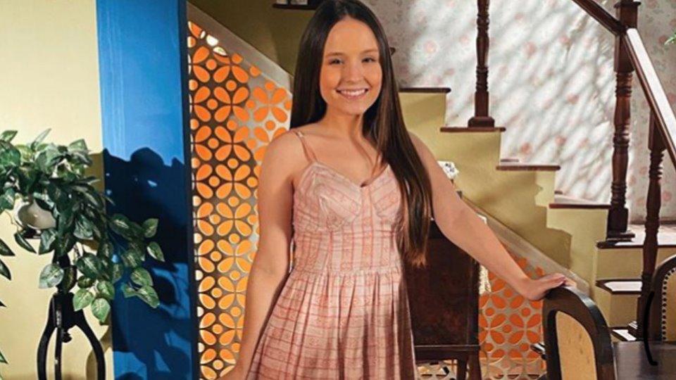 Larissa Manoela se reúne com núcleo jovem da novela As Aventuras de Poliana para se despedir da novela e do SBT (Imagem: Instagram)