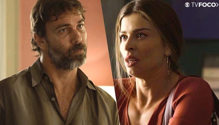 Paloma e Elias em cena de Bom Sucesso