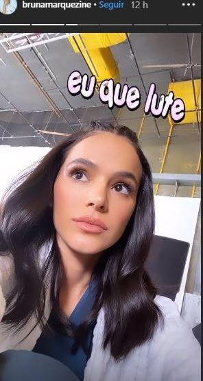 Bruna Marquezine mudou de visual (Foto: Foto/Instagram)