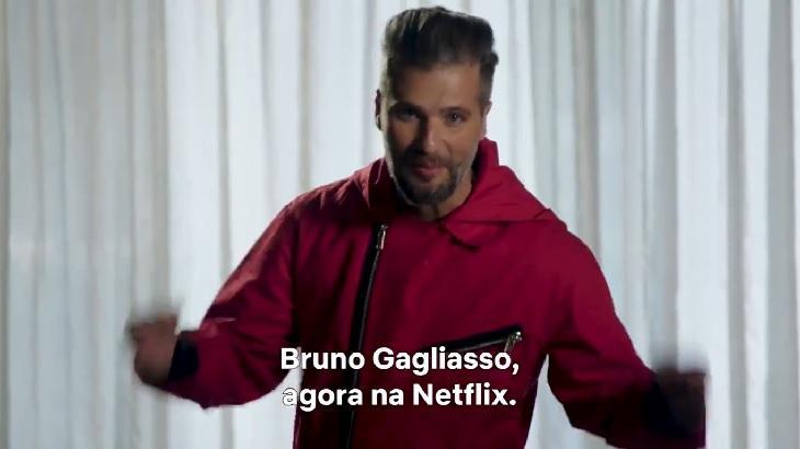 globo Bruno Gagliasso foi contratado definitivamente pela Netflix. (Foto: Reprodução)