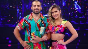 Kaysar e Mayara Araújo podem estar vivendo um romance nos bastidores do Domingão do Faustão, na Globo. Foto: Reprodução
