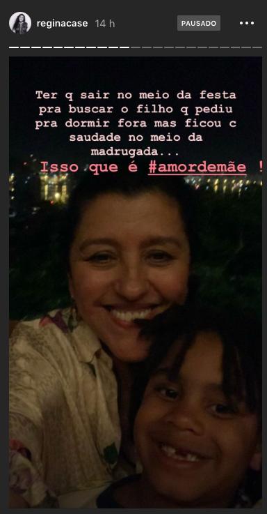 Regina Casé, Amor de Mãe
