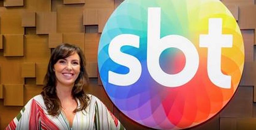 Glenda Kozlowski é a nova apresentadora do SBT (Foto: Reprodução)