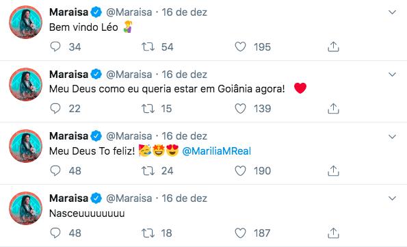 Marília Mendonça, Maraísa