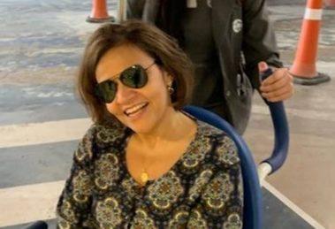 Claudia Rodrigues foi internada pela segunda vez em menos de um mês (Foto: Divulgação)