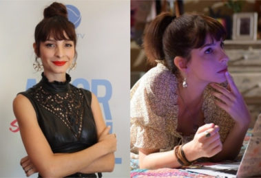 Michelle Batista é a blogueira Maria Antônia de Amor Sem Igual da Record (Foto: Montagem/TV Foco)