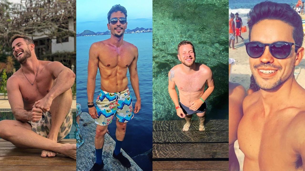 Daniel Adjuto, Tarcis Duarte, Cassius Zeilmann e Leonardo Lara (Foto: Reprodução/Instagram/Montagem TV Foco)